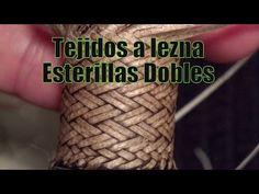 """¿Cómo hacer un Cabo tejido a lezna? (Part2) """"Arranque y Esterillas 2x2 """" """"El Rincón del Soguero"""" - YouTube"""