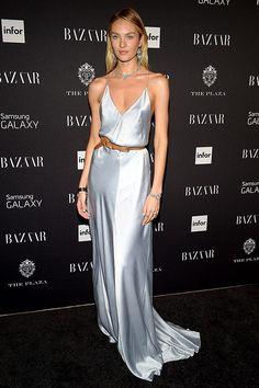90s slip dress celebrity trend - Amazing Candice <3
