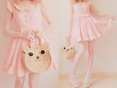 Puurrrfect purse and dress, akaashie: Hoodie ♥ Discount Code: lovely7
