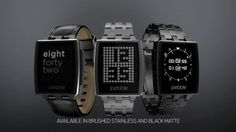Meet Pebble Steel. Pebble Steel, the premium watch for iOS and Android, is the newest addition to Pebble's smartwatch family. Pebble Steel w...