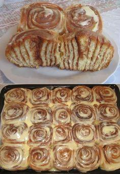 СINNABON (Синнабон) - это всемирно известный бренд булочек с корицей | Выпечка | Постила