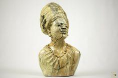 Butter Jade Bust Sculpture - TM Gidi (Zimbabwe) Jade Stone, Zimbabwe, Butter, African, Statue, Ebay, Art, Sculptures, Art Background