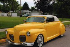 1941 FORD CUSTOM CONVERTIBL - Barrett-Jackson Auction Company - World's Greatest Collector Car Auctions
