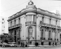 Beautiful building at Patission Avenue, Athens in the Greece Pictures, Old Pictures, Old Photos, Vintage Photos, Bauhaus, Kremlin Palace, Old Greek, Greek History, Athens Greece
