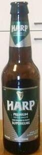 Cerveja Harp Export Lager, estilo Premium American Lager, produzida por Great Northern Brewery, Irlanda. 5% ABV de álcool.