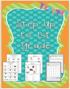 Step Up To First Grade {Phonics & Writing Activities}