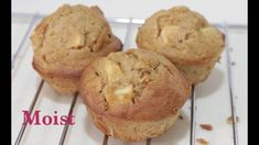Moist Apple Muffins Recipe--Cooking A Dream