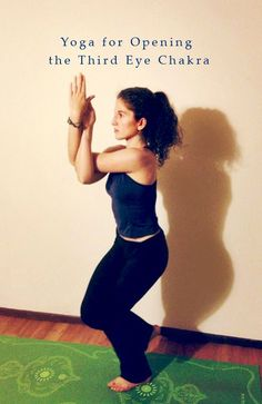 Yoga Sequence for Opening the Third Eye Chakra - Peaceful Dumpling