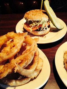 Red Coat Burger at the Red Coat Tavern in West Bloomfield