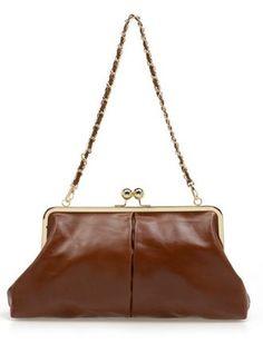 Brown Vintage Chain Bag #SheInside