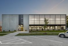 Gallery of Lone Tree Wellness Center / Neumann Monson Architects – 8 – Architecture is art Factory Architecture, Arch Architecture, Industrial Architecture, Cultural Architecture, Residential Architecture, Minimalist Architecture, Ancient Architecture, Sustainable Architecture, Building Exterior