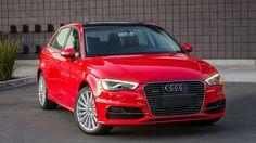 Плагин гибридный хэтчбек Audi A3 Sportback e-tron 2016 / Ауди А3 Спортбэк е-трон 2016 – вид спереди