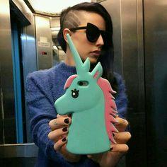 Pastel Unicorn Phone Case ♡♥♡♥♡♥ #unicorns #pastel #kawaii #PhoneCases