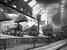 York Engine Sheds 1966