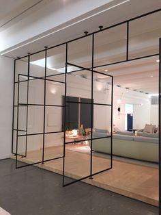 Interior, Home, Window Design, House Interior, Door Glass Design, Room Divider Doors, Office Interior Design, Interior Design, Office Design
