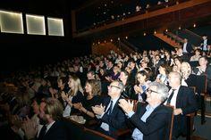 Public lors de la remise du Prix Opera