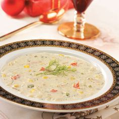 Creamy Crab Soup is a great dish to make on those chilly winter nights. The rich and creamy soup is guaranteed to warm you up!