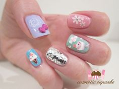 Happy Birthday Nail Art Ideas & Designs For Girls 2013