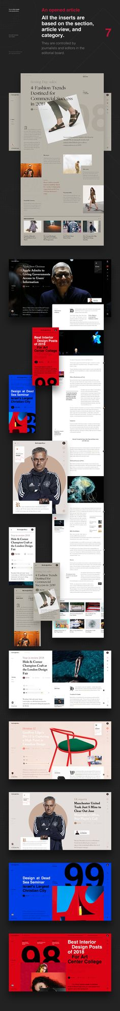NYT Redesign Concept on Behance Portal, Adobe Xd, Best Motivational Quotes, Online Portfolio, How To Stay Motivated, New York Times, Web Design, Behance, Concept