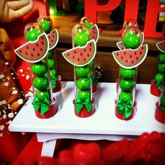 Watermelon Birthday Parties, Fruit Party, 5th Birthday, First Birthdays, Diy And Crafts, Alice, Instagram, Lucca, Frozen