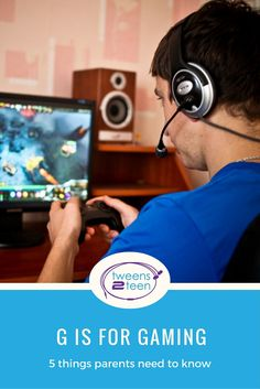 Gaming is a part of teen life these days, but before you let them have free rein, check out these tips for parents.