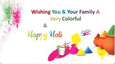 Wish You a very happy Holi 2017 .#Festivsal #Bonding With Friends / Family / Relatives / Followers / Viewers.