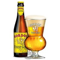 Bière Gordon Finest Gold blonde 10% 33cl