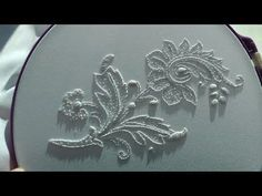 Hand embroidery designs. Beads work. - YouTube