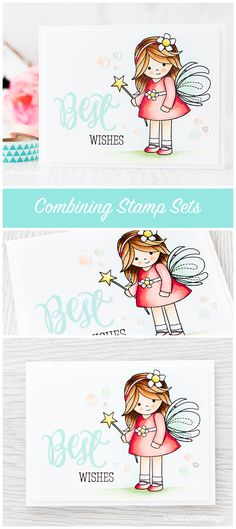 Combining stamp sets and playing dress up! Find out more by clicking on the following link: http://limedoodledesign.com/2016/02/combining-stamp-sets/