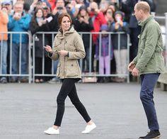 Catherine, Duchess of Cambridge and Prince William visited the Cridge Centre in Victoria