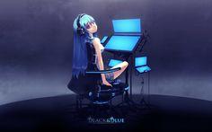 Anime Vocaloid  Hatsune Miku Hatsune Miku Fondo de Pantalla