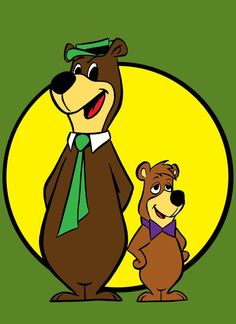 yogi bear and boo boo by AlanSchell on DeviantArt 70s Cartoons, Vintage Cartoons, Old School Cartoons, Looney Tunes Cartoons, Animated Cartoons, Cartoon Character Tattoos, Classic Cartoon Characters, Classic Cartoons, Comic Character