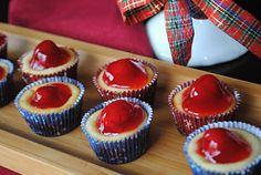 Mini Cherry Cheesecakes!