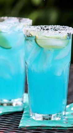 Blue Margaritas...