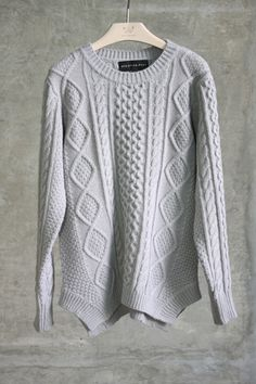 dove grey sweater #swoonboutique