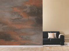 peinture à effet décoratif rouille par Alpina Colori