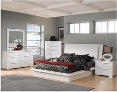 Delta 6 Piece Queen Bedroom Package White The Brick
