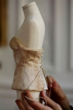 working on a Dior dummy