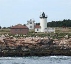 Great Duck Island Lighthouse, Maine at Lighthousefriends.com