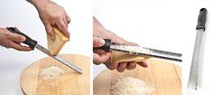 Ginger Grated On A Microplane Grater Recipes on Pinterest