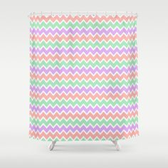 Girl Shower Curtain See More 6 Pastel Baby Pink And Gold Chevron Girl
