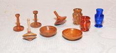 handgefertigte Miniaturen (gedrechselt) - Eigenkreation
