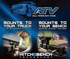 ATV all terrain vise - mounts to just about anything.