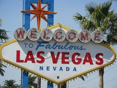 The iconic Welcome to Fabulous Las Vegas sign was erected in May 1959