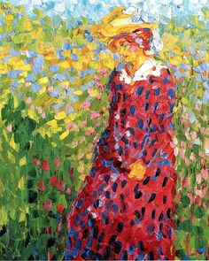 Emil Nolde, Young Woman, 1907