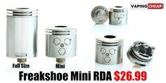 Freakshow Mini RDA - $26.99 - http://vapingcheap.com/freakshow-mini-rda/