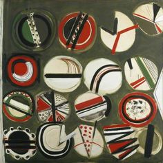 Your Paintings - Terry Frost paintings Art Uk, Your Paintings, Cool Artwork, Frost, Abstract Art, St Ives, Sculpture, Fine Art, Circles