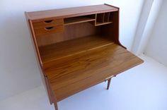 Vintage Arne Wahl Iversen Secretary Desk $1395