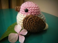Pajarito rosa!   por ☁ Eliza Rizo