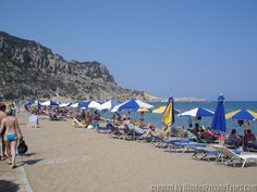 Tsambika Beach - Rhodes Island Greece